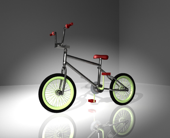 Bike BMX - 3DOcean Item for Sale