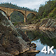 Historic Railroad Bridge over Calm American River - VideoHive Item for Sale