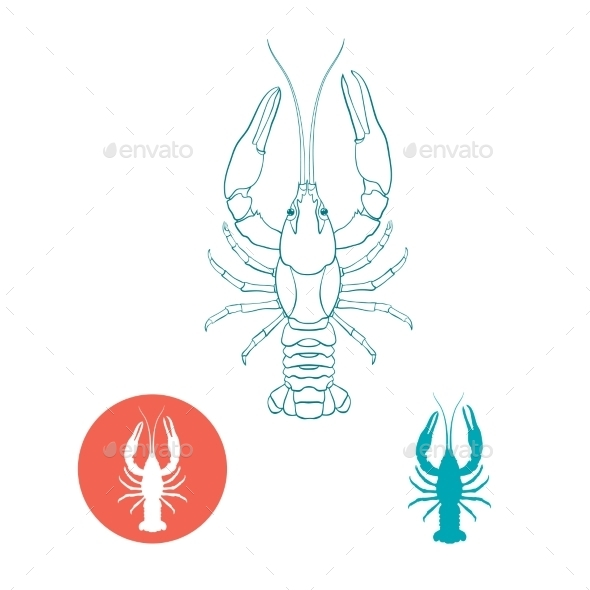 GraphicRiver Crayfish 11068581