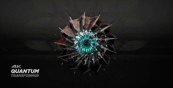 VideoHive Quantum Transformer Logo 11068672