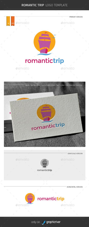 GraphicRiver Romantic Trip Logo Template 11068871