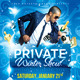 Private Winter Show Flyer - GraphicRiver Item for Sale