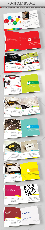Graphic River Portfolio Booklet Print Templates -  Brochures  Portfolio 841688