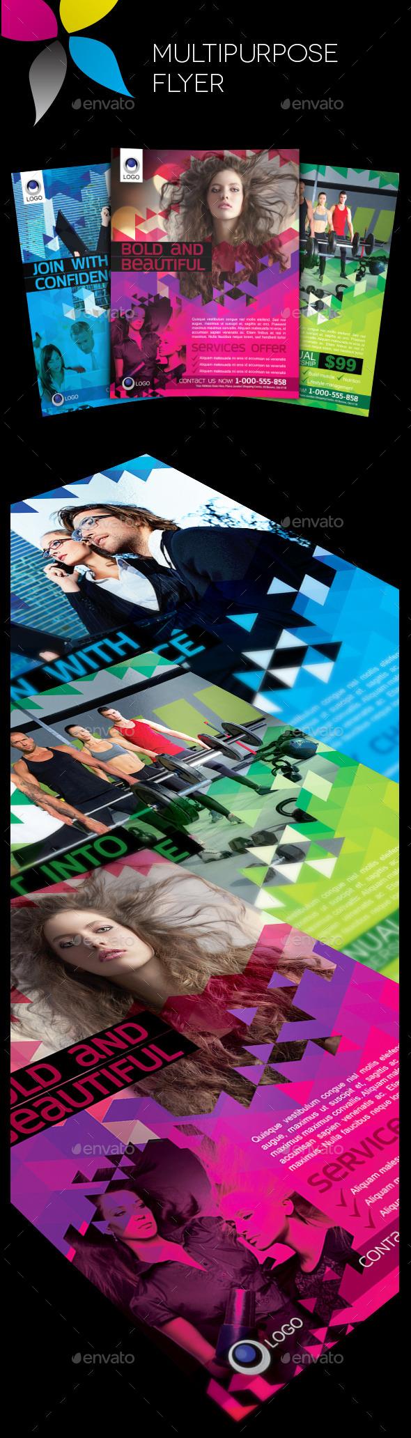 GraphicRiver Multipurpose Flyer 11069158
