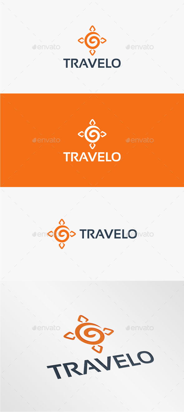 GraphicRiver Travelo Logo Template 11069409