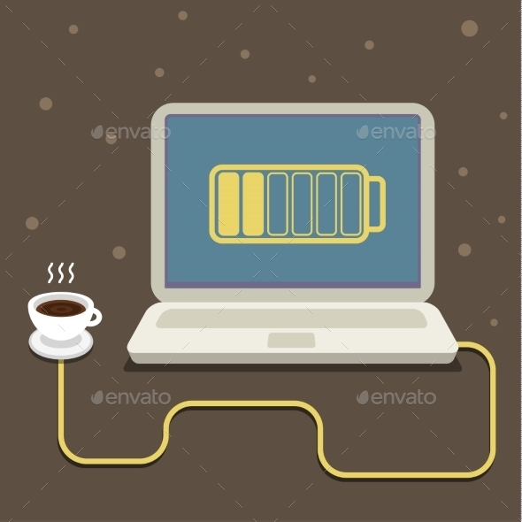 GraphicRiver Coffee Power 11069436