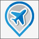 Flight Booking Tour Service Logo Design - GraphicRiver Item for Sale