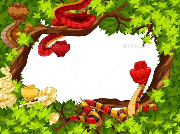 GraphicRiver Snakes 11069849