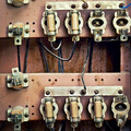 old switchboard with fuses  - PhotoDune Item for Sale