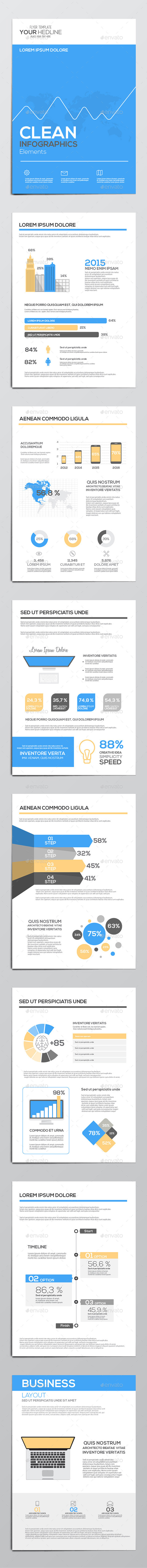 GraphicRiver Business Infographics Elements 11070672