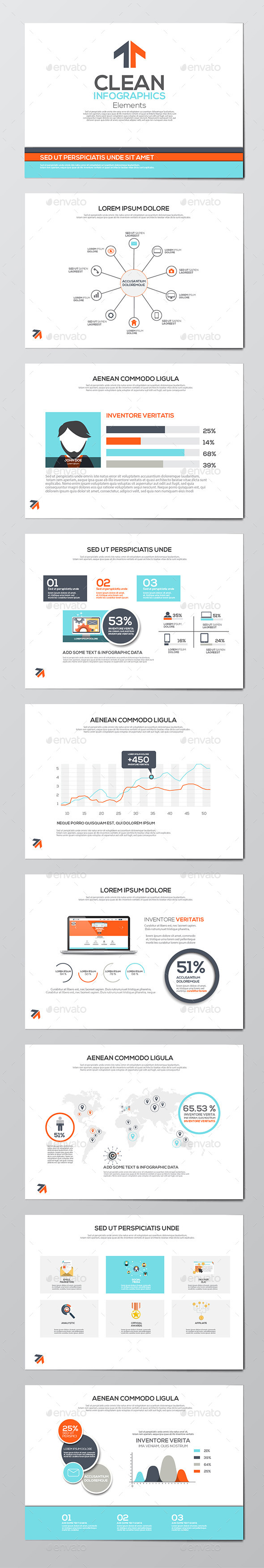 GraphicRiver Business Infographics Elements 11070680