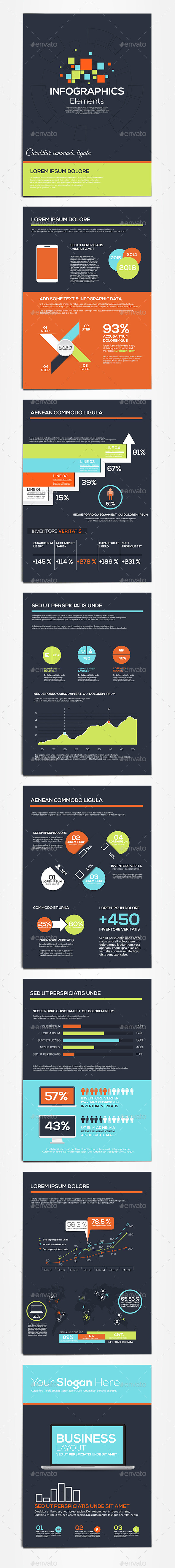 GraphicRiver Business Infographics Elements 11070725