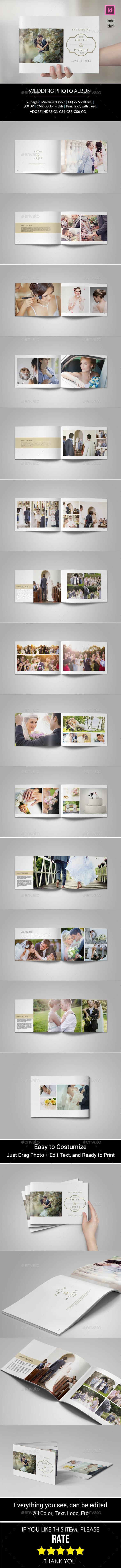 GraphicRiver Simple Wedding Photo Album 11070772