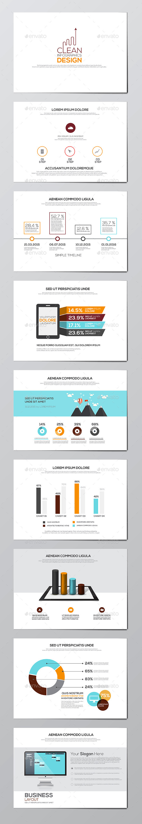 GraphicRiver Business Infographics Elements 11070773