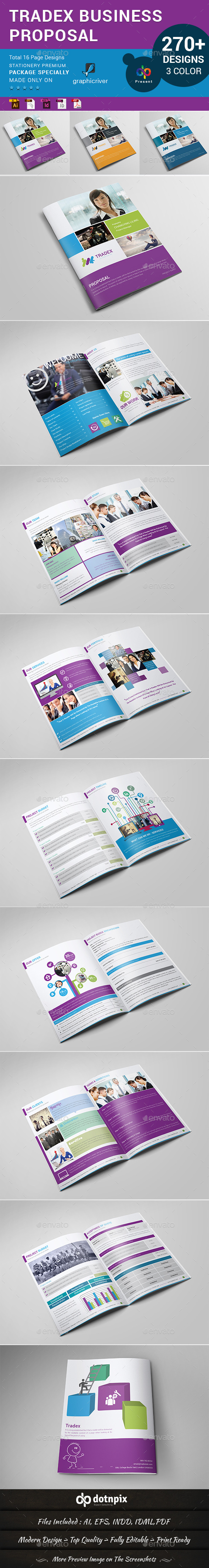 GraphicRiver Tradex Business Propsal 11026787