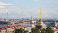 View to the cityscape of Saint-Petersburg. Russia. View from above - PhotoDune Item for Sale