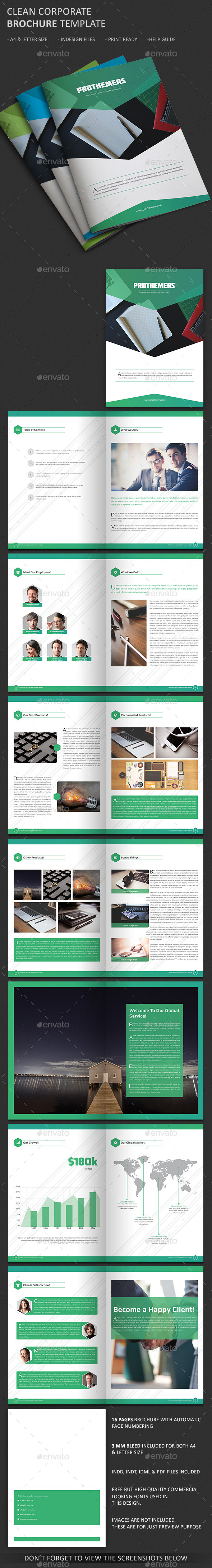 GraphicRiver Corporate Business Brochure 11031898