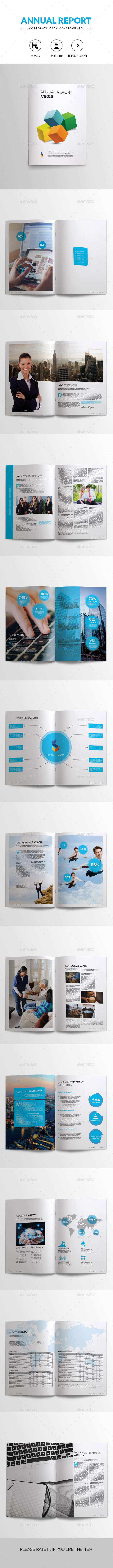 GraphicRiver Annual Report Corporate Brochure 11071859