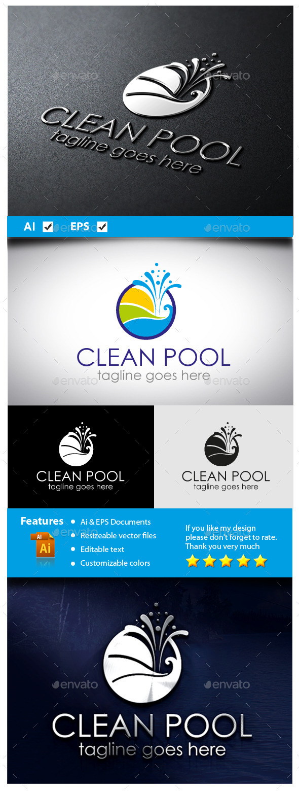 GraphicRiver Clean Pool 11071982