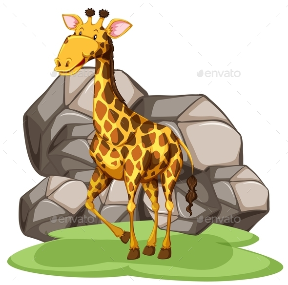 GraphicRiver Giraffe 11072202