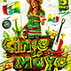 Flyer Cinco de Mayo Party Konnekt - GraphicRiver Item for Sale