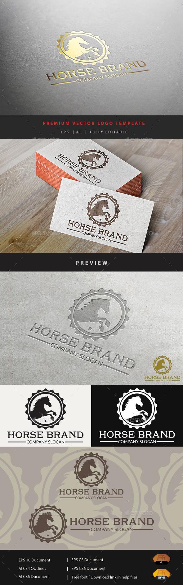 GraphicRiver Horse Brand V.2 11072425