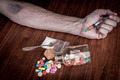 Syringe in Hand - PhotoDune Item for Sale