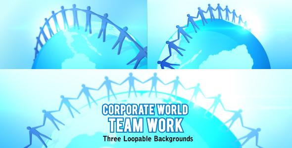 Corporate World Team Work