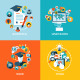 Flat Design Concept Banners for Education - GraphicRiver Item for Sale