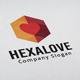 Hexa Love Logo - GraphicRiver Item for Sale