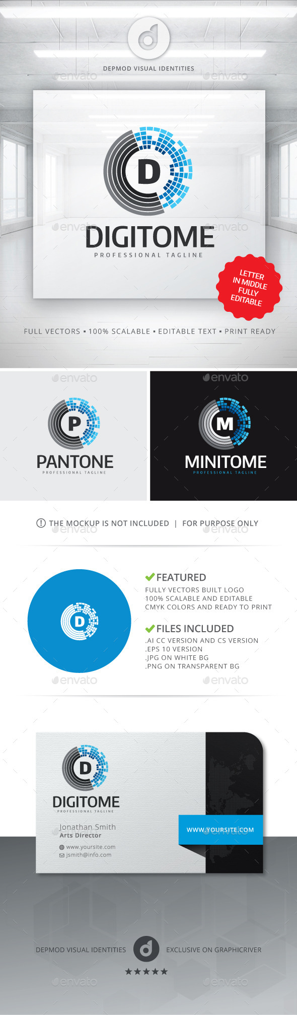 GraphicRiver Digitome Logo 11074281