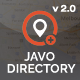 Javo Directory Wordpress Theme - ThemeForest Item for Sale