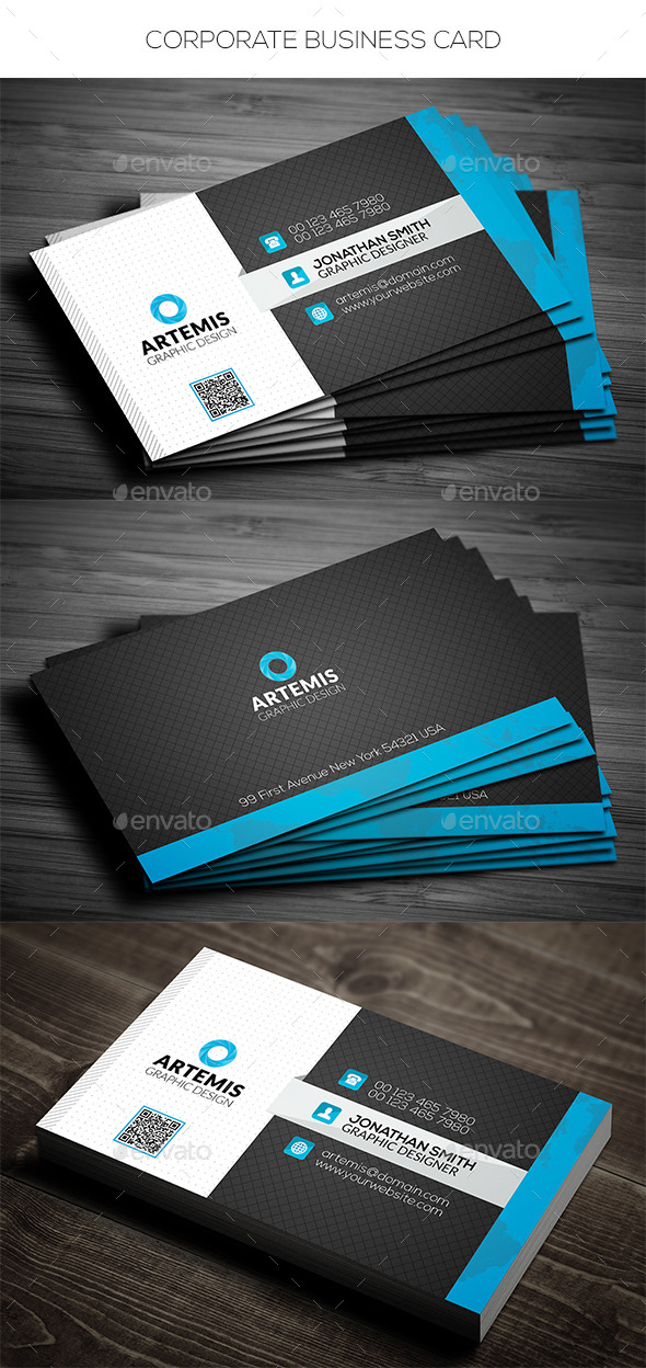 GraphicRiver Corporate Business Card 11074326