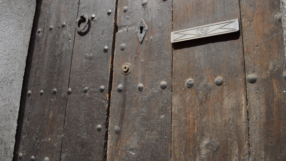 Big Old Wooden Door