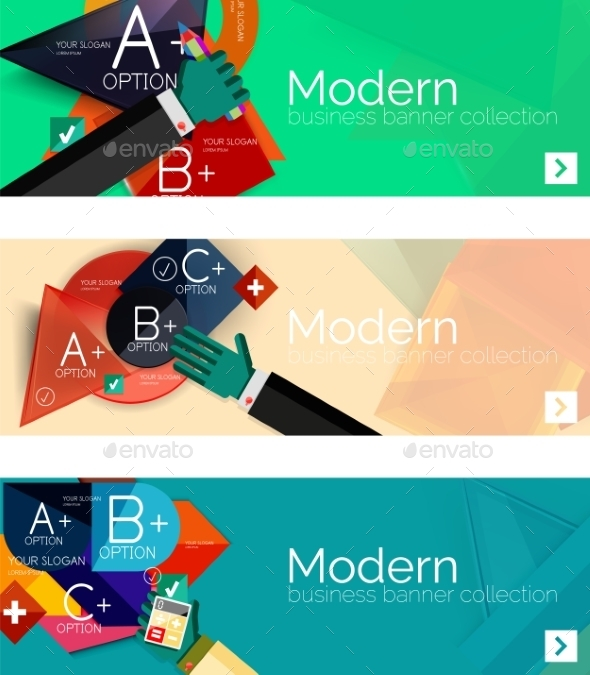 GraphicRiver Infographic Banners 11074632