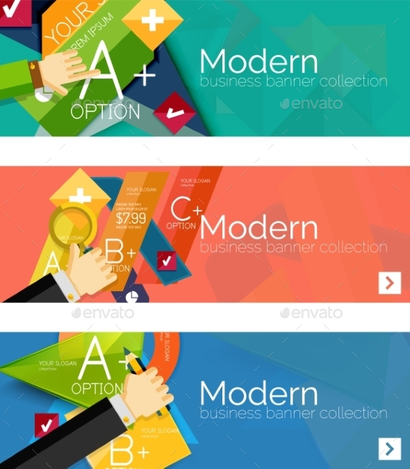 GraphicRiver Infographic Banners 11074683