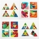 Triangular Info Boxes  - GraphicRiver Item for Sale