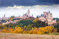 Autumn day view of Castle of Segovia - PhotoDune Item for Sale
