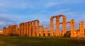 twilight view of Acueducto de los Milagros - PhotoDune Item for Sale