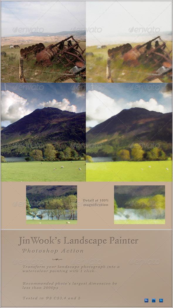 GraphicRiver JinWook s Landscape Painter 137164