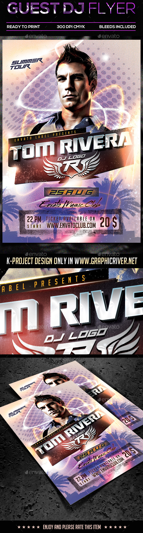 GraphicRiver Guest DJ Flyer 11074815
