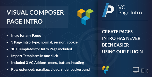 Visual Composer Page Intro - CodeCanyon Item for Sale