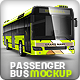 Bus, passenger bus, large Bus mock-up - GraphicRiver Item for Sale