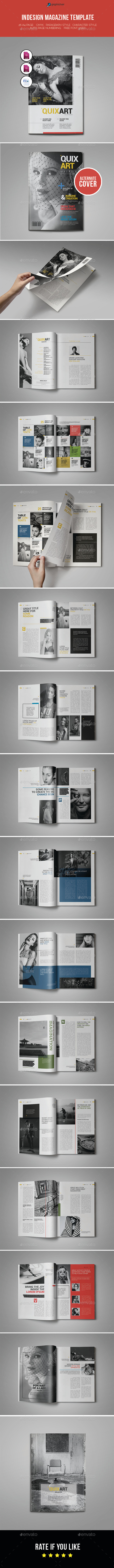 GraphicRiver Indesign Magazine Template 11078975