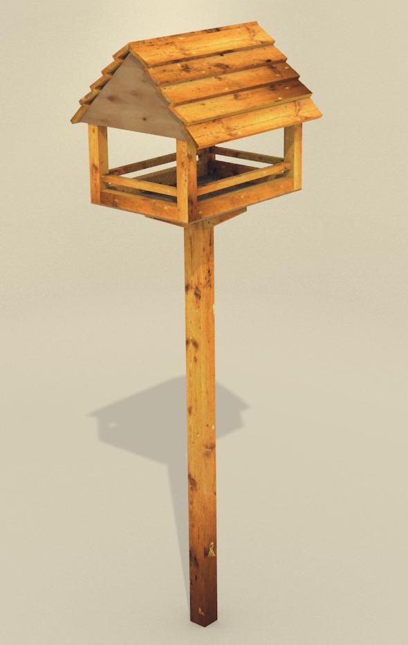 3DOcean bird feeders 11078989