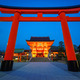 Fushimi Inari Shrine at night, Kyoto, Japan - PhotoDune Item for Sale