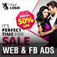 Weekend Sale Web & FB Banners Ads - GraphicRiver Item for Sale