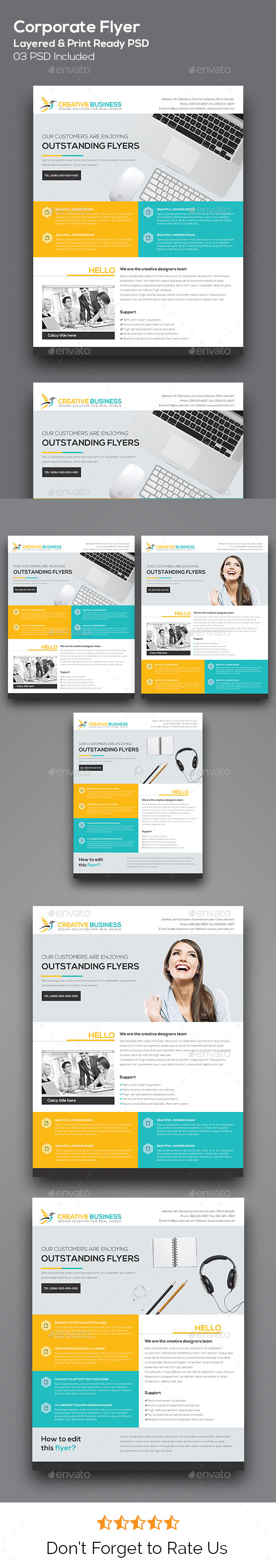 GraphicRiver Corporate Flyer 11079159