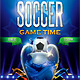 Soccer Game Time Flyer - GraphicRiver Item for Sale