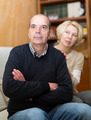 Couple after quarrel indoors - PhotoDune Item for Sale